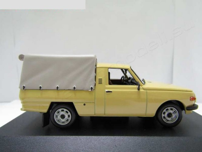WARTBURG 353 PICK-UP 1967, CREAM